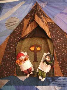 Himpelchen und Pimpelchen in ihren Betten